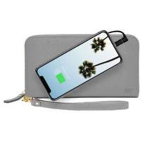 Mighty Purse Zipper Wallet with Built-In Phone Cha