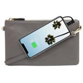 Mighty Purse Classic X-Body Bag with Built-In Phon