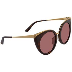 CartierCt0122sa - 002 Havana Sunglasses Woman