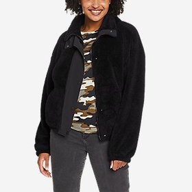 Women's Quest Plush Snap-Front Jacket