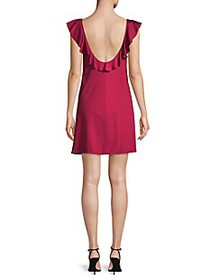 Tahari Ruffled Mini Dress