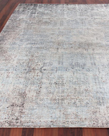 Exquisite Rugs Sanctuary Hand-Knotted Silk Rug 9'