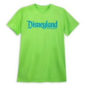 Disney Disneyland T-Shirt for Adults – Neon Lime