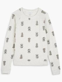Lucky Brand Woodblock Printed Pullover