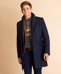 Brooks Brothers Wool-Blend Topcoat