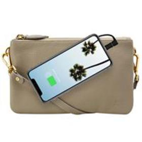 Mighty Purse Trio Bag with Built-In Phone Charger,
