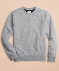 Brooks Brothers French Terry Lightweight Crewneck