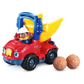 Fisher-Price Little People Dumpety the Dump Truck,