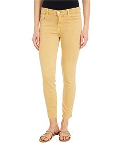 J Brand 835 Mid-Rise Crop Skinny in Litho