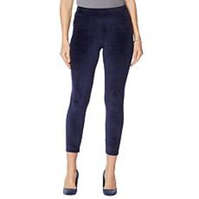 """""""As Is"""" Skinnygirl Seamless Pull-On Velour Pant"""
