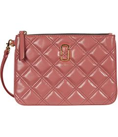 Marc Jacobs The Quilted Softshot Wristlet