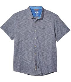 Dockers Short Sleeve Smart 360 Flex Ultimate Butto