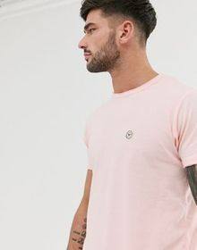 Le Breve longline raw edge t-shirt