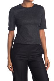 Theory Fitted Half Sleeve Top