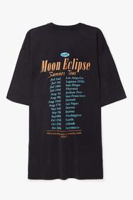 Nasty Gal Grey Moon Eclipse Summer Tour Graphic Te