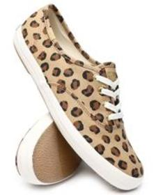 Keds keds champion leopard canvas sneakers