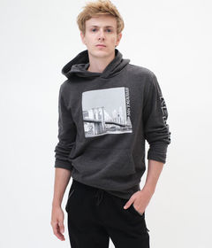 Aeropostale Brooklyn New York Pullover Hoodie