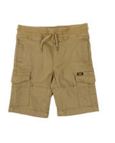Lee stretch twill pull-on cargo shorts (4-7)