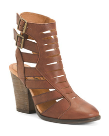 FREE PEOPLE Made In Spain Bungalow Leather Strappy
