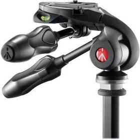Manfrotto MH293D3-Q2 3-Way, Pan-and-Tilt Head with