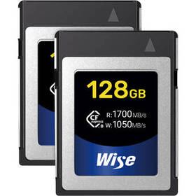 Wise Advanced 128GB CFX-B Series CFexpress Memory