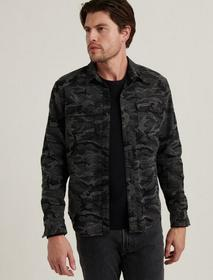 Lucky Brand Camo Shirt Jacket
