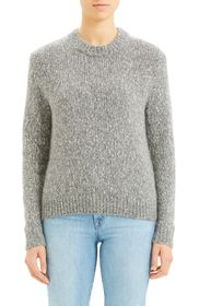 Theory Speckled Crew Neck Sweater