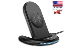 Qi Wireless Fast Charger Charging Stand Dock For G