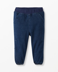 Hanna Andersson Stretch Denim Joggers