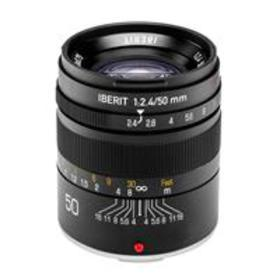 Kipon IBERIT 50mm f/2.4 for Leica M - Black