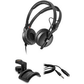 Sennheiser HD 25 Monitor Headphones Kit with Holde