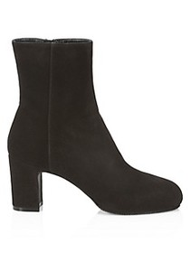 Stuart Weitzman Gianella Suede Ankle Boots