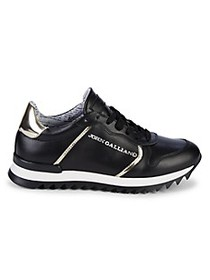 John Galliano Leather Sneakers