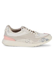 Cole Haan Grand Crosscourt Snake-Print Detailed Sn
