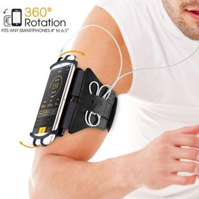 Sports Exercise Armband 360 Rotatable Cellphone Sw