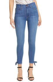 alice + olivia Good High Waisted Ankle Skinny Jean