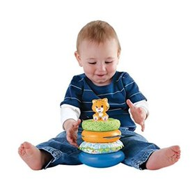 Fisher-Price First Steps Teether and Play Stacker,