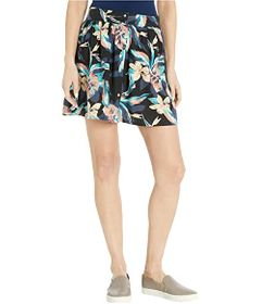 Roxy Shallow End Buttoned Skirt