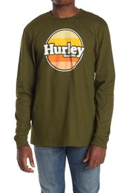 Hurley Jammer Graphic Long Sleeve T-Shirt