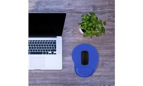 Ergonomic Comfortable Mouse Pad Mat With Wrist Res