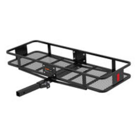 """CURT Hitch-Mounted 60"""" x 20"""" Basket Cargo Carrier"""