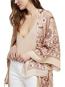 Free People Magic Dance Border Print Kimono