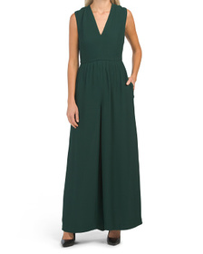 FRENCH CONNECTION Carrabellle Crepe Jumpsuit