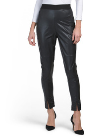 FRENCH CONNECTION Celina Faux Leather Pants