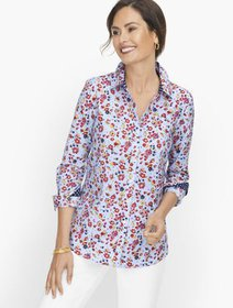 Talbots Perfect Shirt - Fall Floral