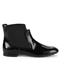 Tod's Leather Slip-On Boots