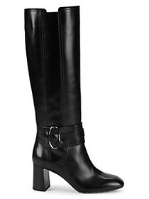 Tod's Gomma Knee-High Leather Boots