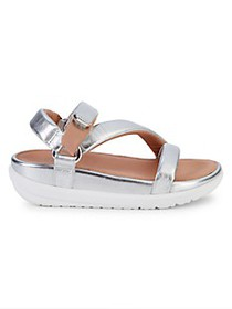 FitFlop Loosh Leather Platform Sandals