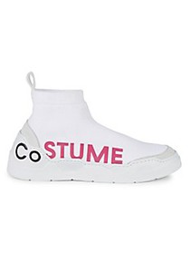 Costume National Knit Sock High-Top Runners
