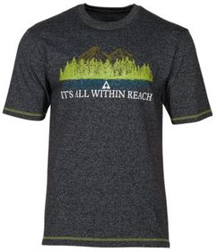 Ascend It's All Within Reach Mountain Graphic Shor